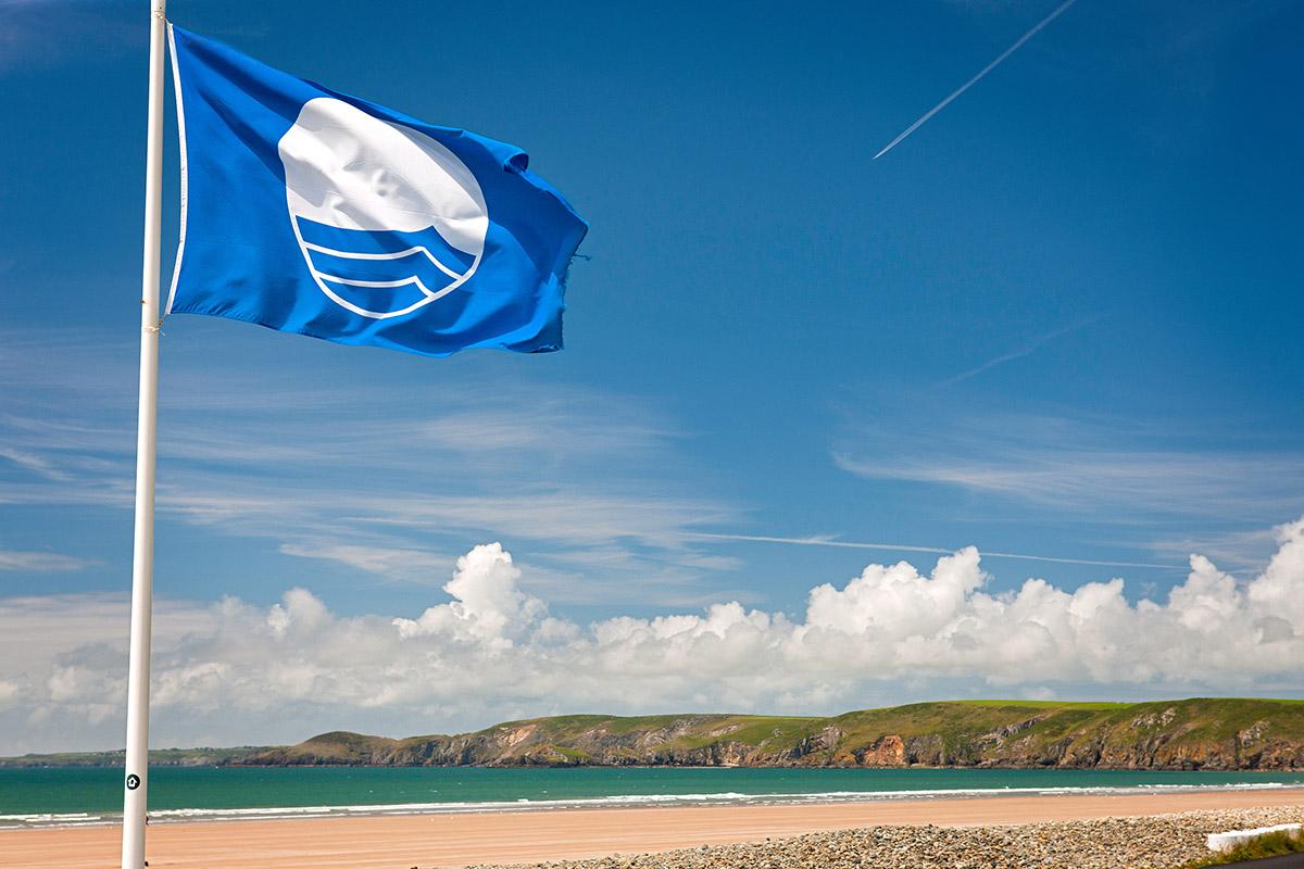 Пляжи с голубым флагом в России и в мире