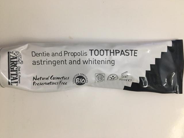 натуральная зубная паста эко