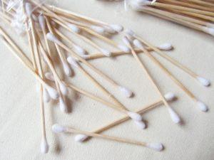 деревянные ватные палочки