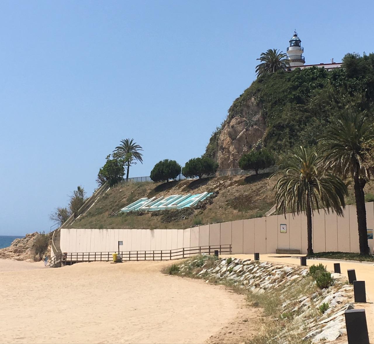 пляж в Коста Браве, Испания